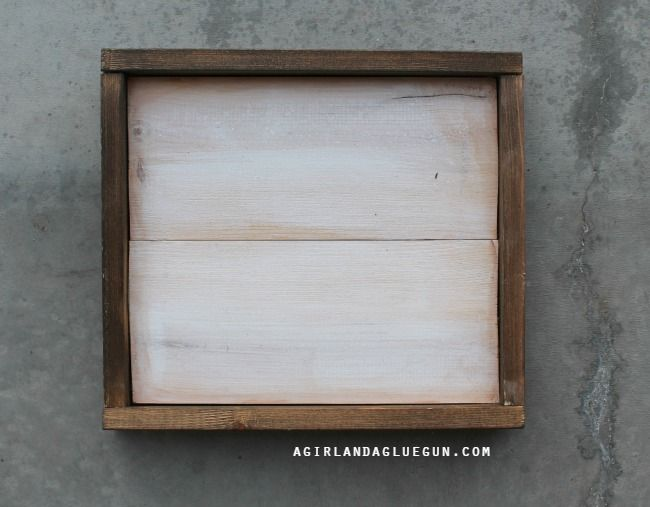 Wood Frames Step By Diy Frame