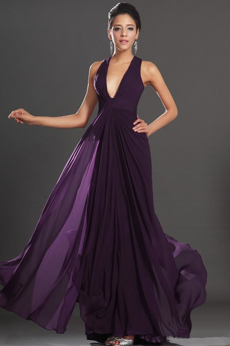 Dark Purple Bridesmaid Dresses Fashjourney