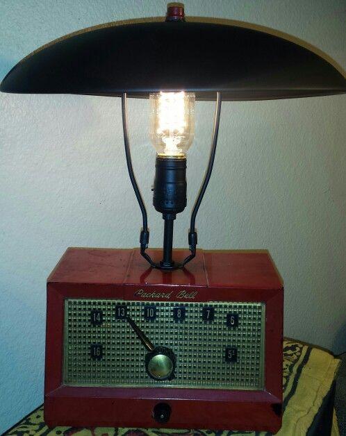 Vintage Radio Lamp Lamp Lamp Light Novelty Lamp