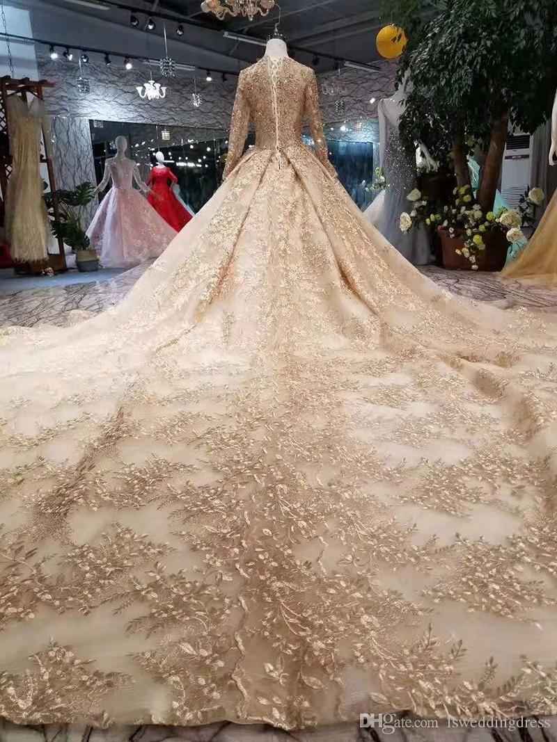 22++ Wedding dress golden info