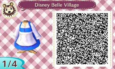 Belle's Dress - Site has other Disney Clothes.