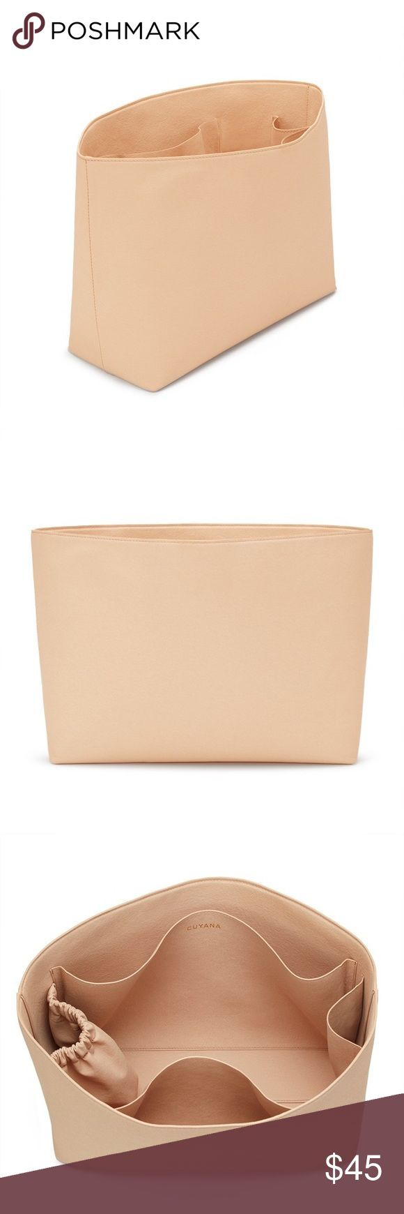 Cuyana tote organizer Super nice tote organizer from cuyana. They make high qual#Eyes