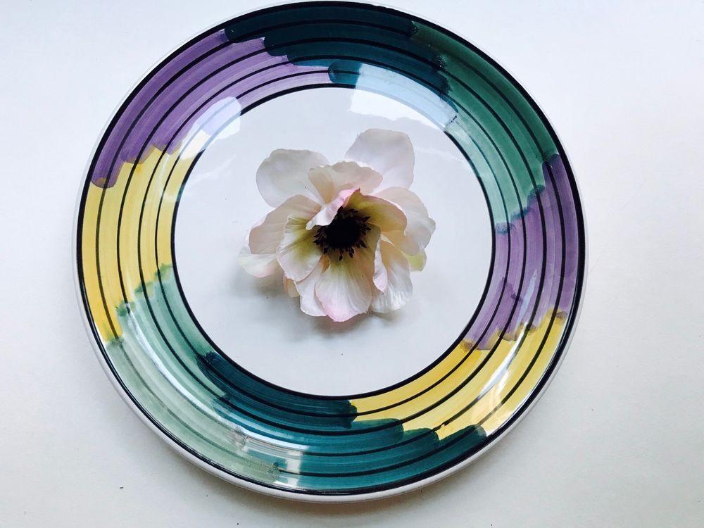 CALECA Italy Artista pattern Dinner Plate - 11-1/4\