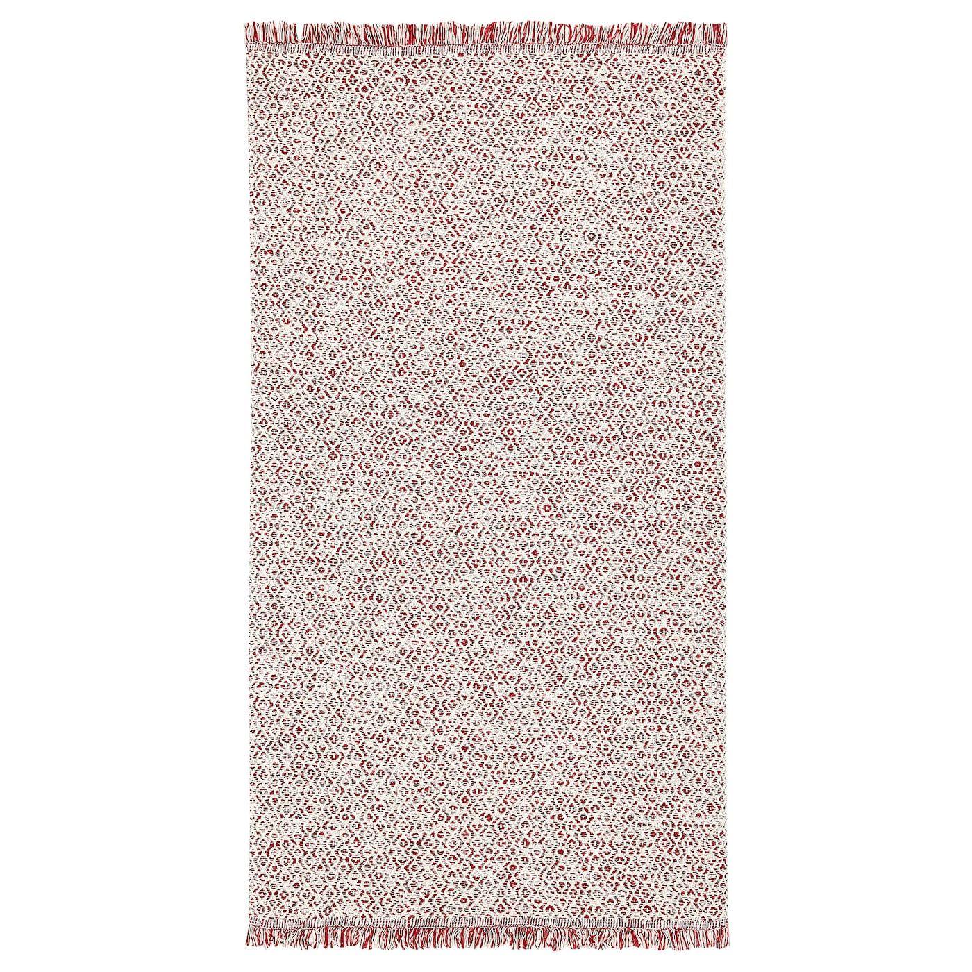 RÖrkÄr Teppich Flach Gewebt Rot Naturfarben 80x150 Cm Ikea Österreich Teppich Flach Gewebt Ikea Teppich Naturfarben