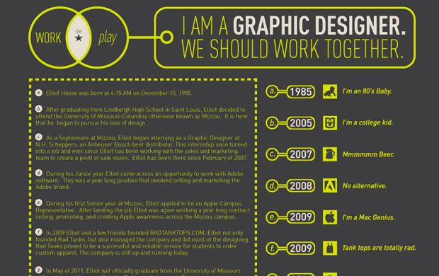 Graphic Designer Resume Tips And Examples Photography Graphic Design Web Tendencies Inspiration R Graphic Design Resume Graphic Resume Infographic Resume