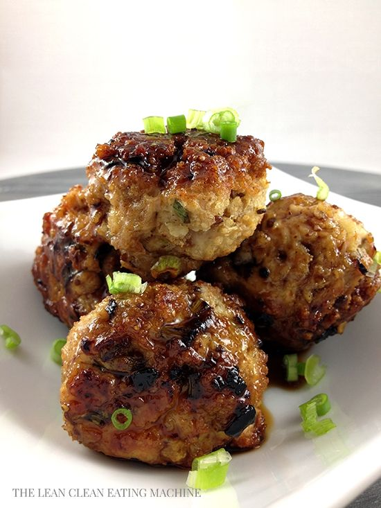 sesame ginger turkey meatballs recipe healthy eating alternatives la i ved by hayley joy pinterest food recipes and dinners