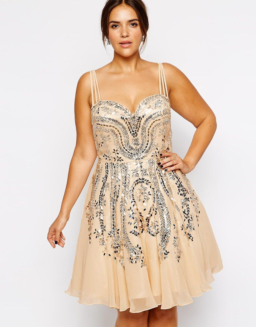 Forever unique plus size flora embellished dress beautiful
