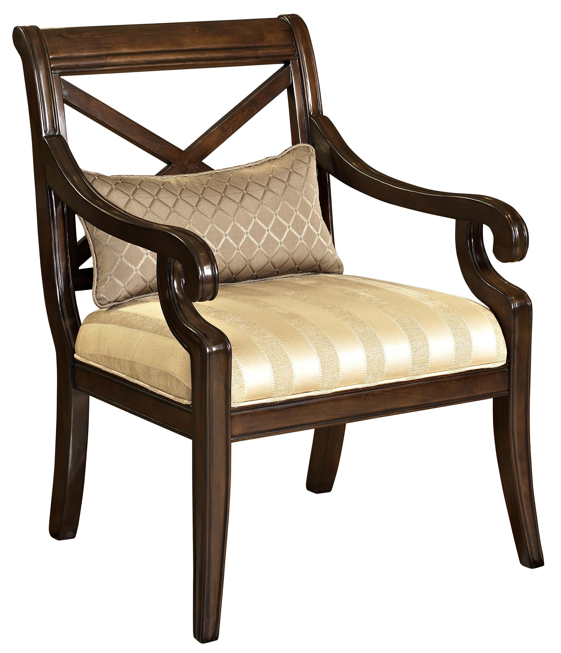 Classic Seating Exposed Wood Chair By Powell