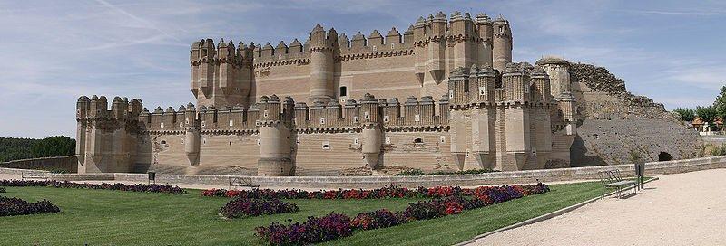 3. Castelo de Coca, Espanha