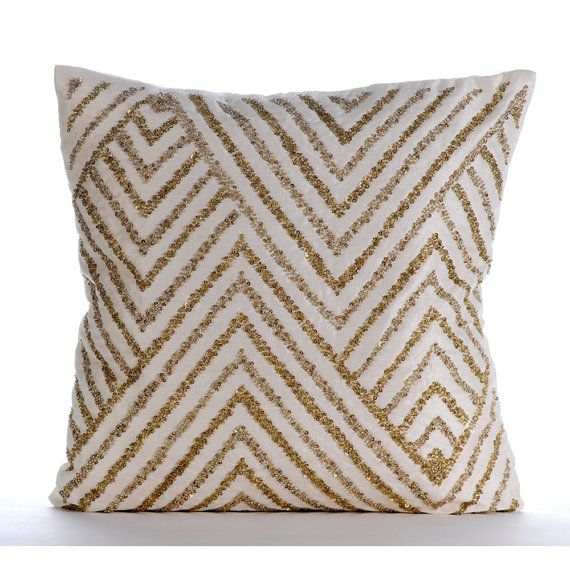 Decorative Linen Throw Pillow Covers