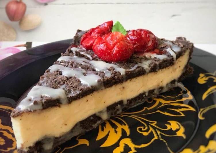 Шоколадная королевская ватрушка   Рецепт   Рецепты выпечки ...