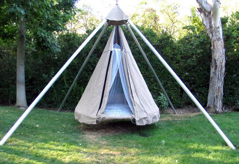 Apparently This Can Also Be Made From An Old Trampoline