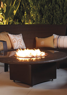 Oriflamme Fire Tables Frontgate Fire Table Gas Fire Table Fire Pit Table