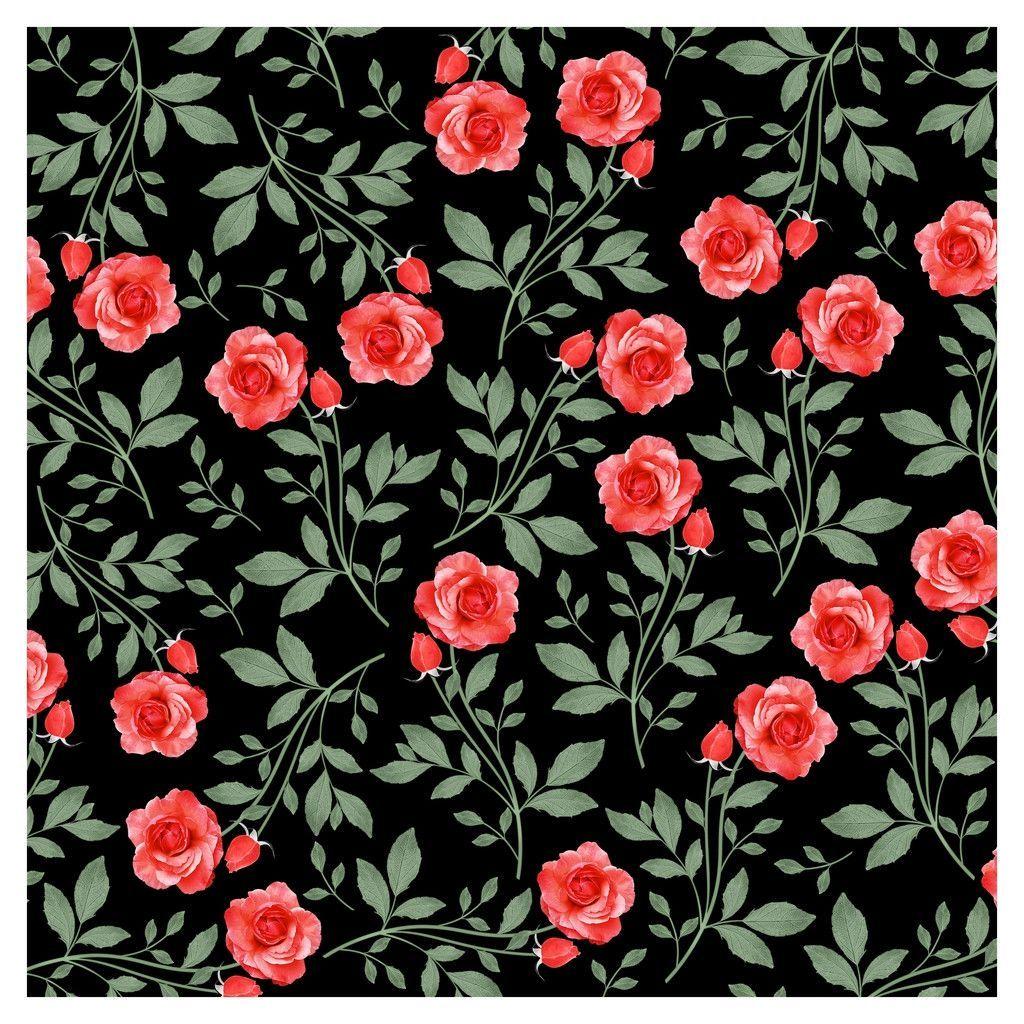 Wedding Red Roses Adhesive Vinyl Sheet