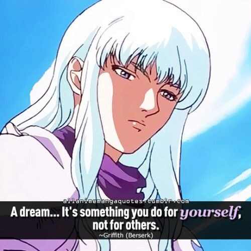 Berserk   Manga quotes, Berserk quotes, Berserk