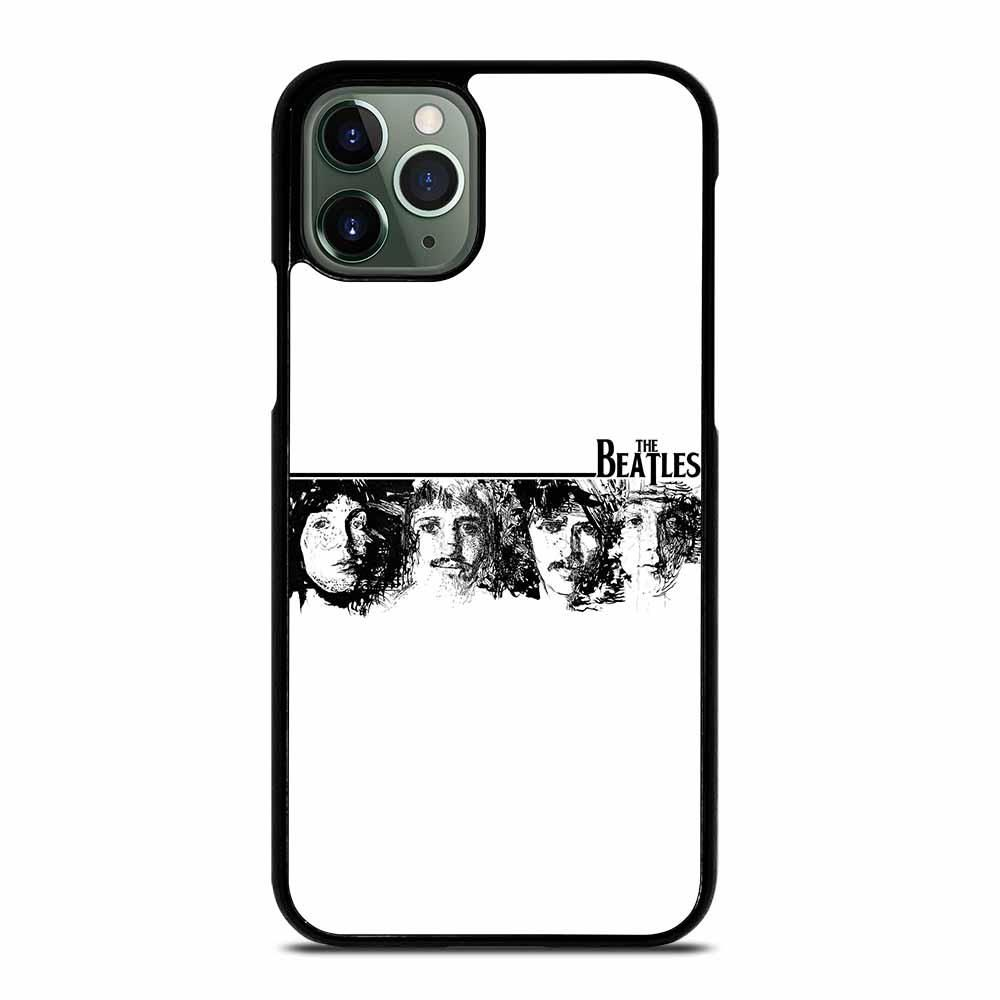 The Beatles Black And White Iphone 11 Pro Max Case White Iphone