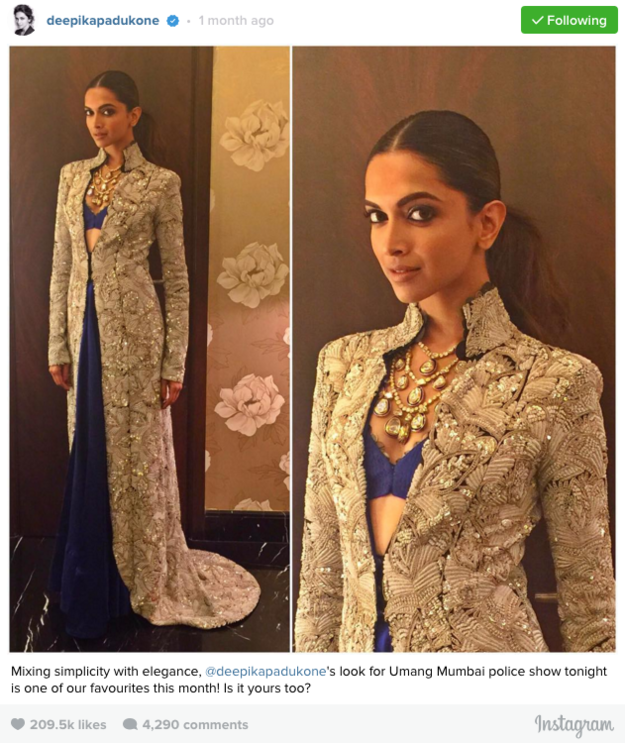 We Need To Talk About Deepika Padukone's Instagram For ...