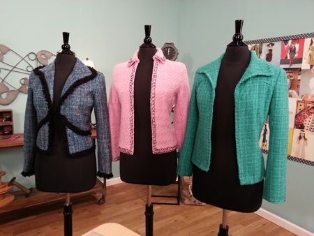 quilting the lining of your jacket @brothersews @havelssewing @dritzsewing #ItsSewEasyTV