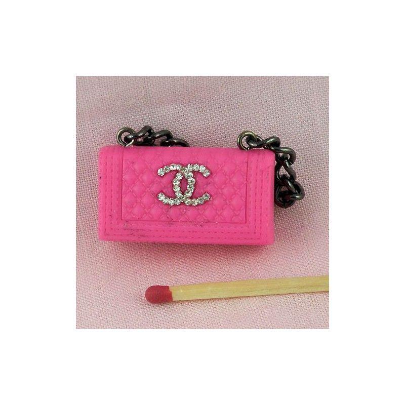 miniature sac a main tuto   sac-a-main-chanel-miniature-poupee-sac-a-main- chanel-anse-en-chaine . b06d6a91401