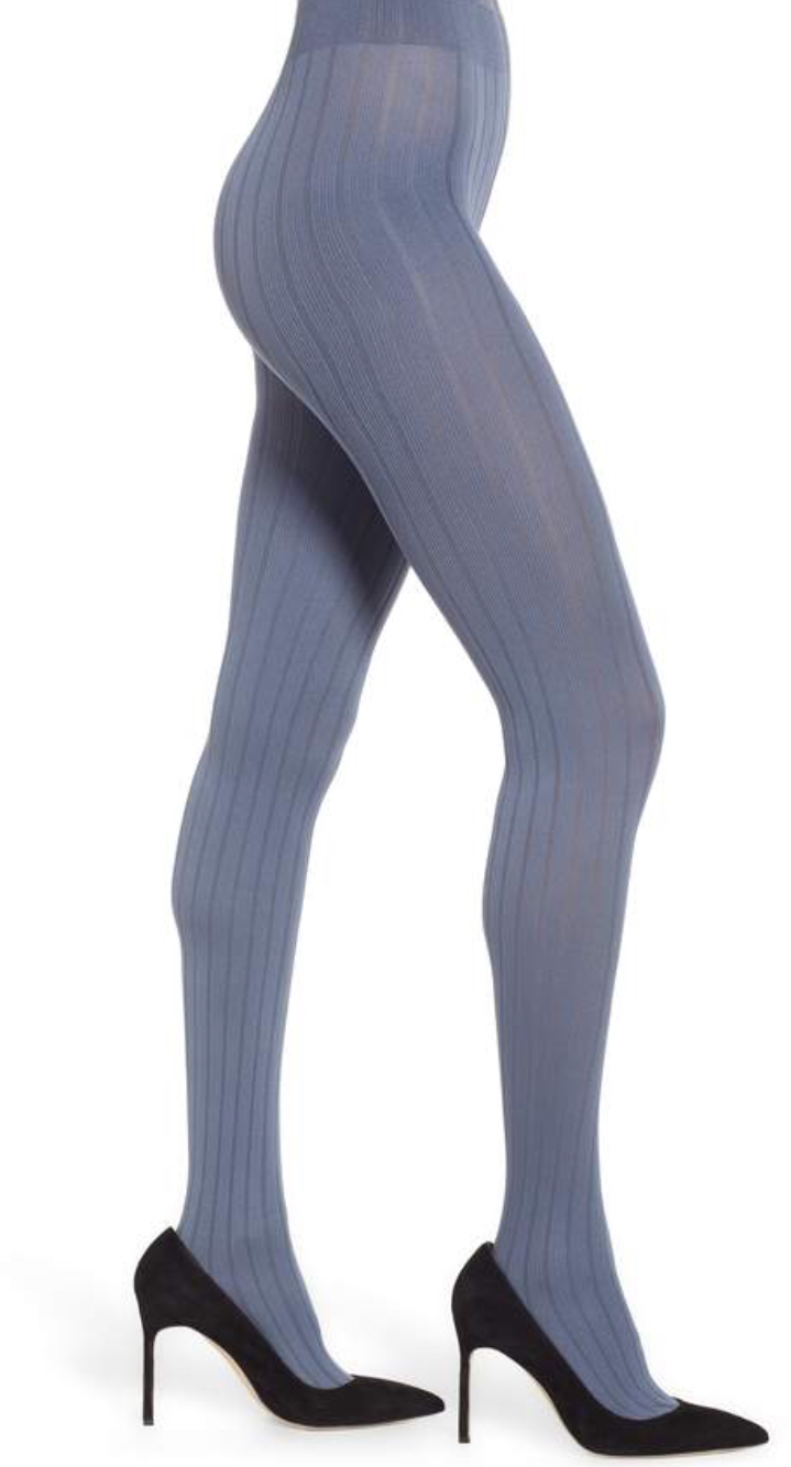 2bd86116843 OROBLU Ribbed Opaque Tights