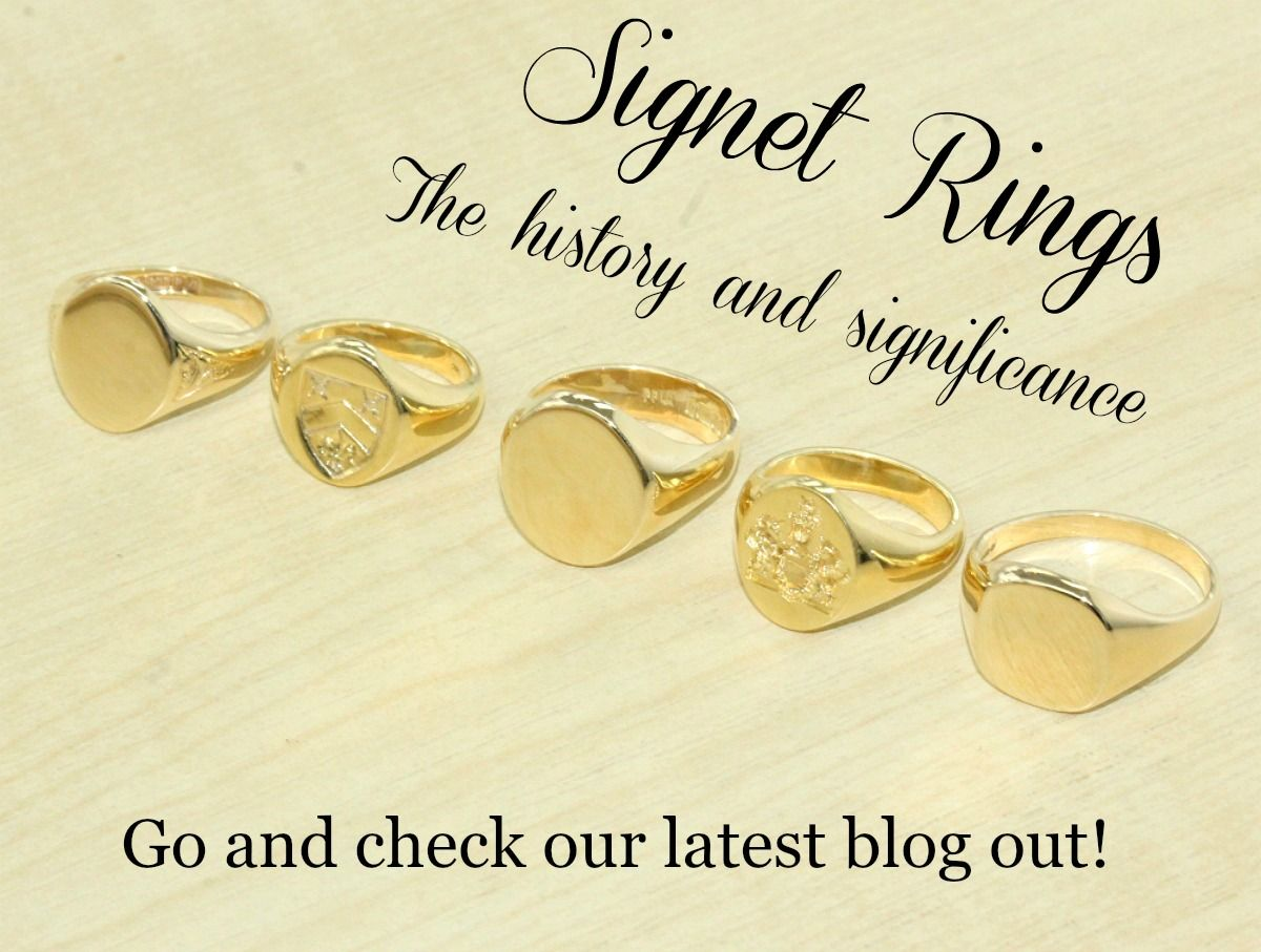 Signet Rings - The Vintage Jeweller, Hatton Garden, London ...