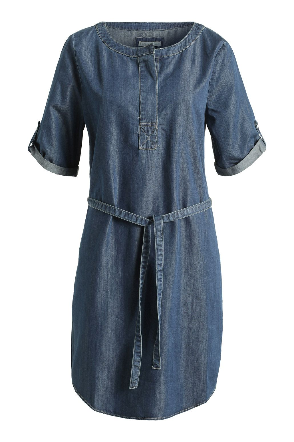 06e1483f82a232 Esprit - Luchtige denim jurk kopen in de online shop