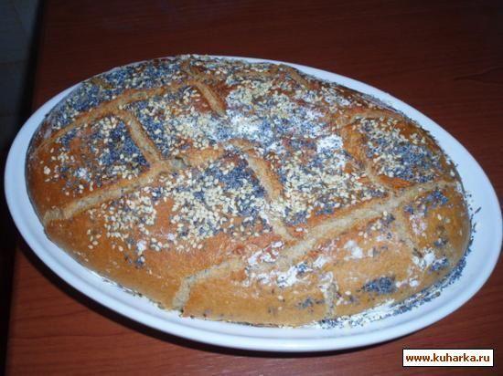 Рецепт: Хлеб на закваске