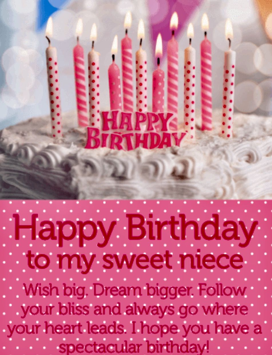 Have A Spectacular Day Happy Birthday Wishes Card For Niece Follow