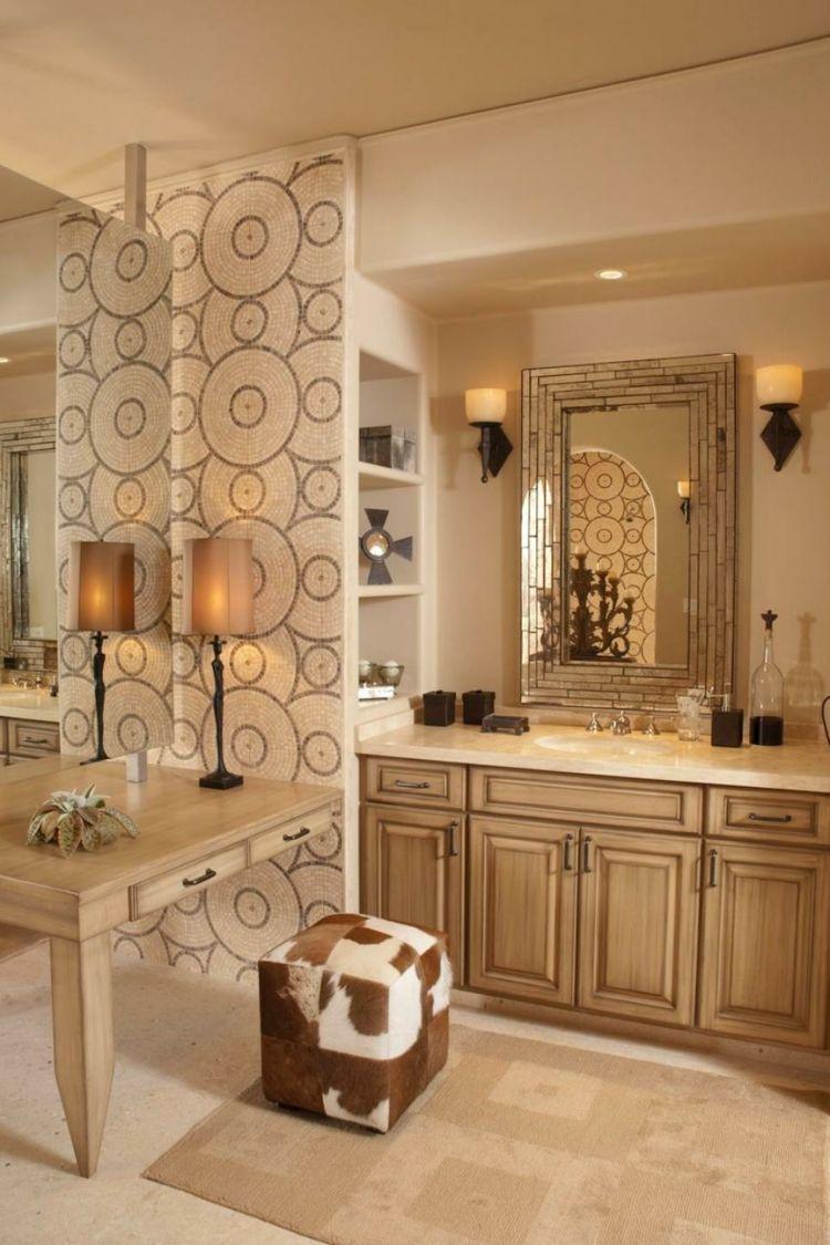 Baños pintados, creando ambientes con colores frescos ...