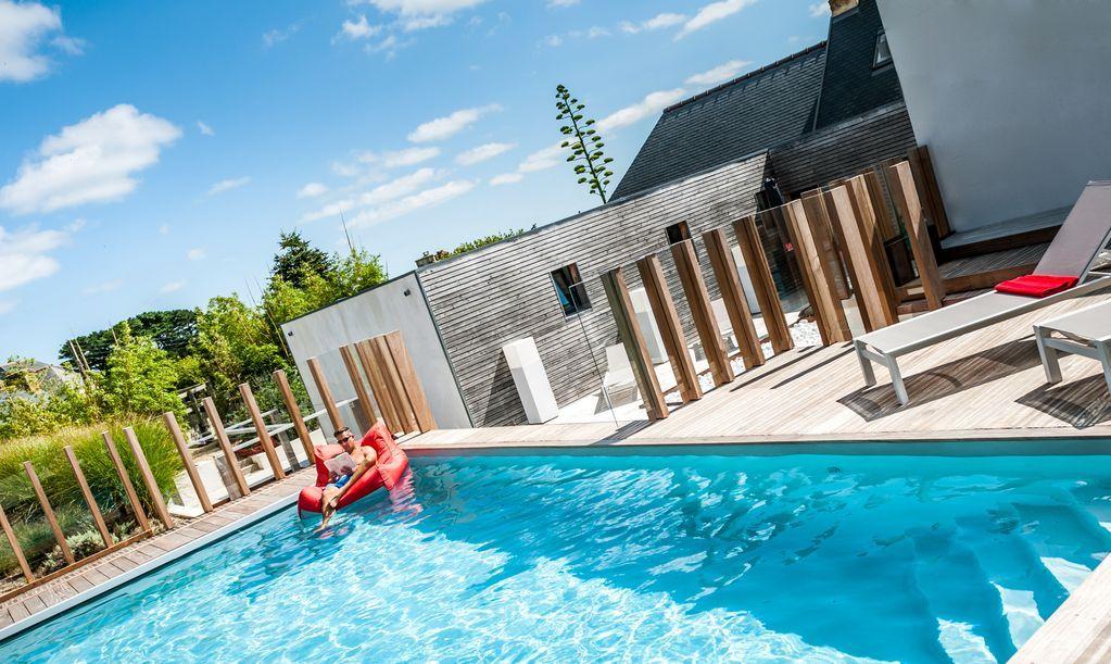 Abritel Location Penvenan Bretagne Maison De Luxe Avec Piscine