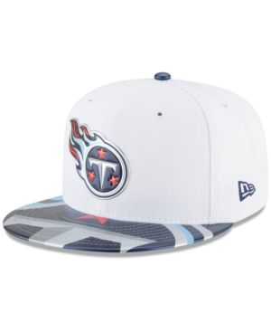 New Era Boys  Tennessee Titans 2017 Draft 59FIFTY Cap - White Navy 6 ... 0905b752b