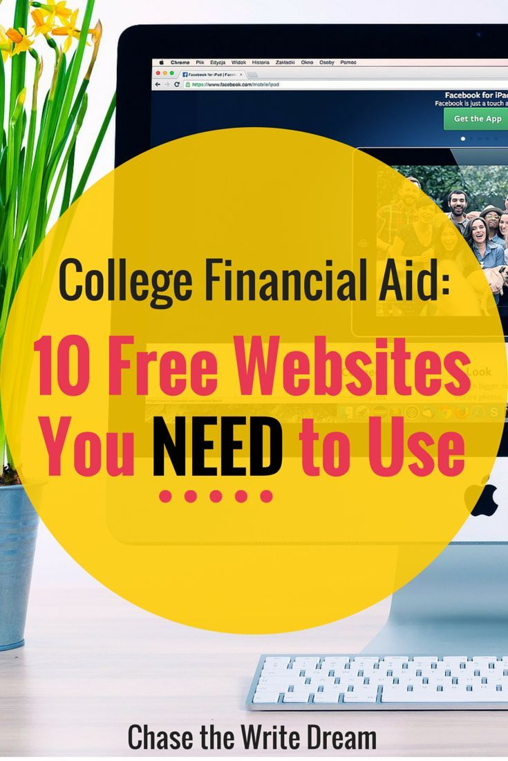 College Financial Aid  Free Websites You Need To Use  College