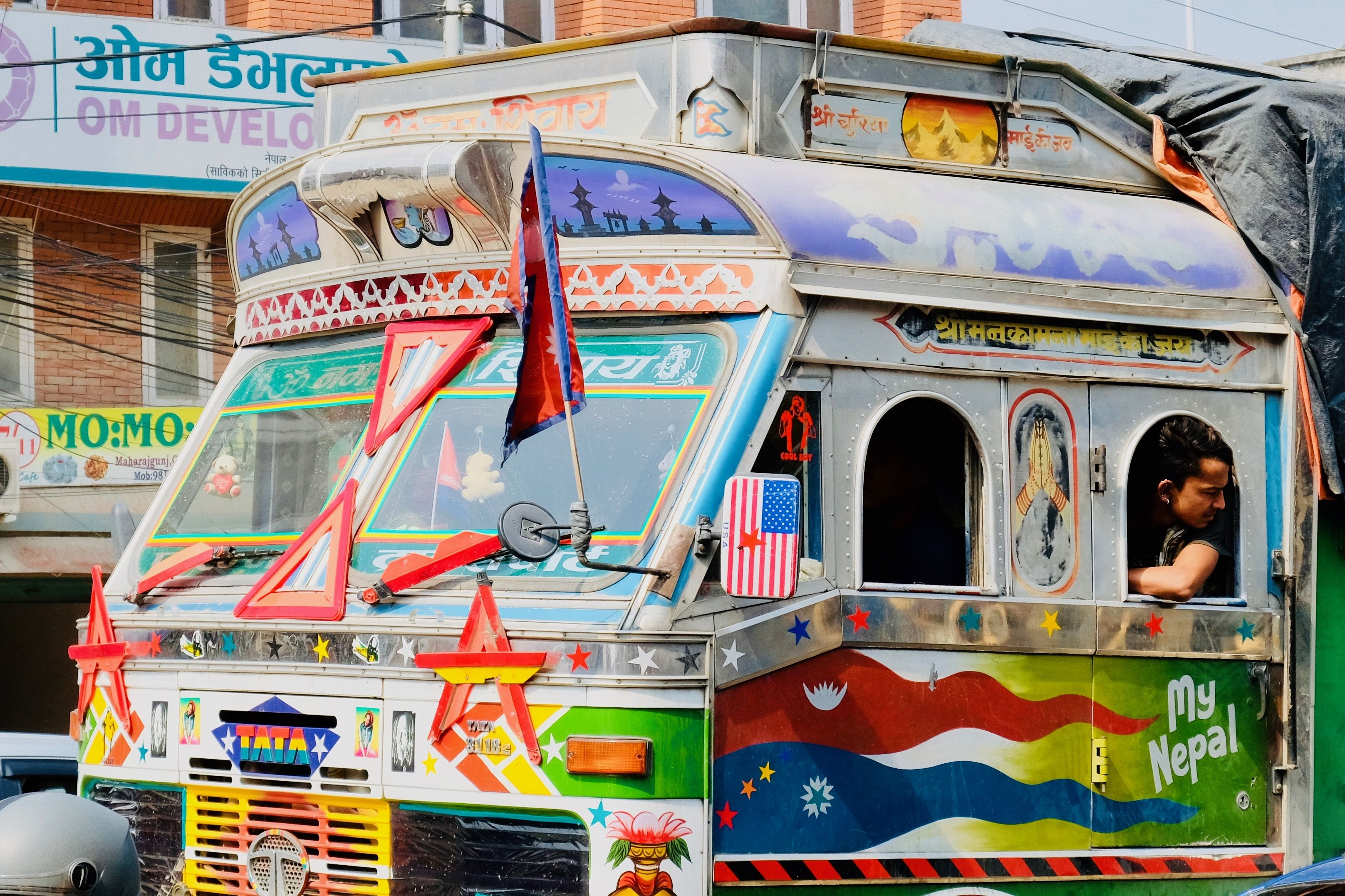 Image Result For Nepal Bus Art With Images Bus Art Truck Art