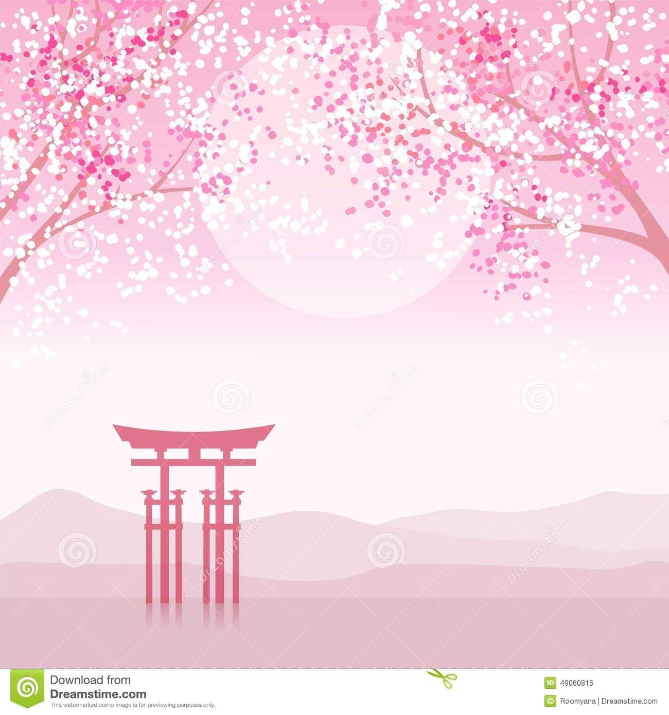 paisaje japones pintura - Buscar con Google | house | Pinterest ...