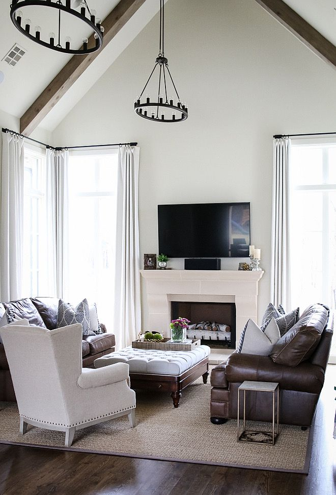 Living Room Paint Color Is Sherwin Williams Natural Choice A Great Neutral That Works With Any Hardwood Floor Sherwinwilliamsnaturalchoice Neutralcolor