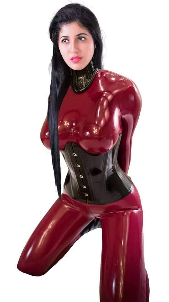 In lady latex