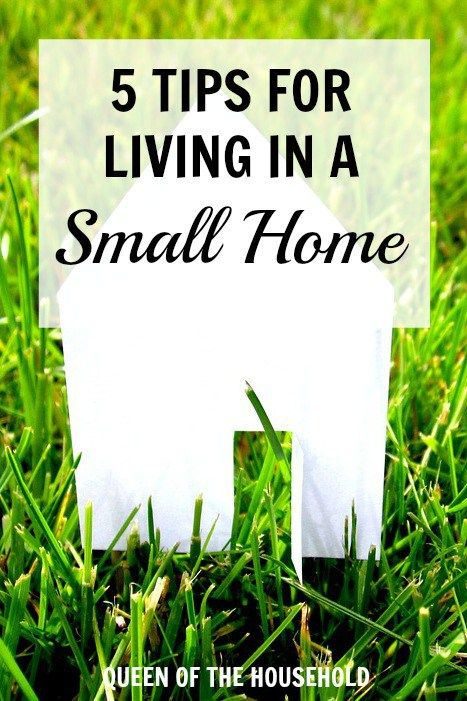 There are some definite strategies to making a small home livable. If you don't follow these strategies, you may be frustrated living in a small house. (Top View Living)