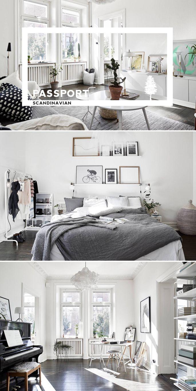 PASSPORT: Scandinavian Hardwood Floor Apartment Tour | Hardwood ...
