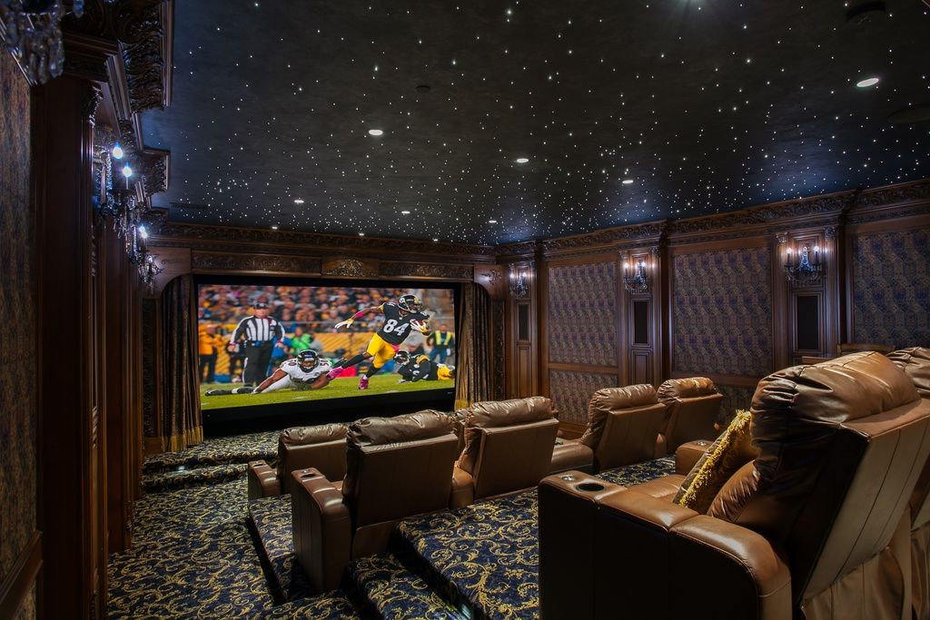 home theater ceiling lighting. Simple Theater Great Traditional Home Theater With Carpet U0026 Interior Wallpaper In Dana  Point CA Sky CeilingCeiling LightingHome  Throughout Ceiling Lighting