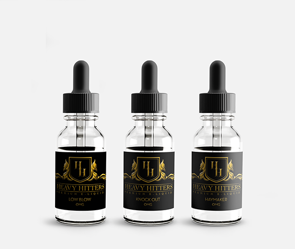 Heavy Hitters Premium E Liquid On Behance 이미지 포함