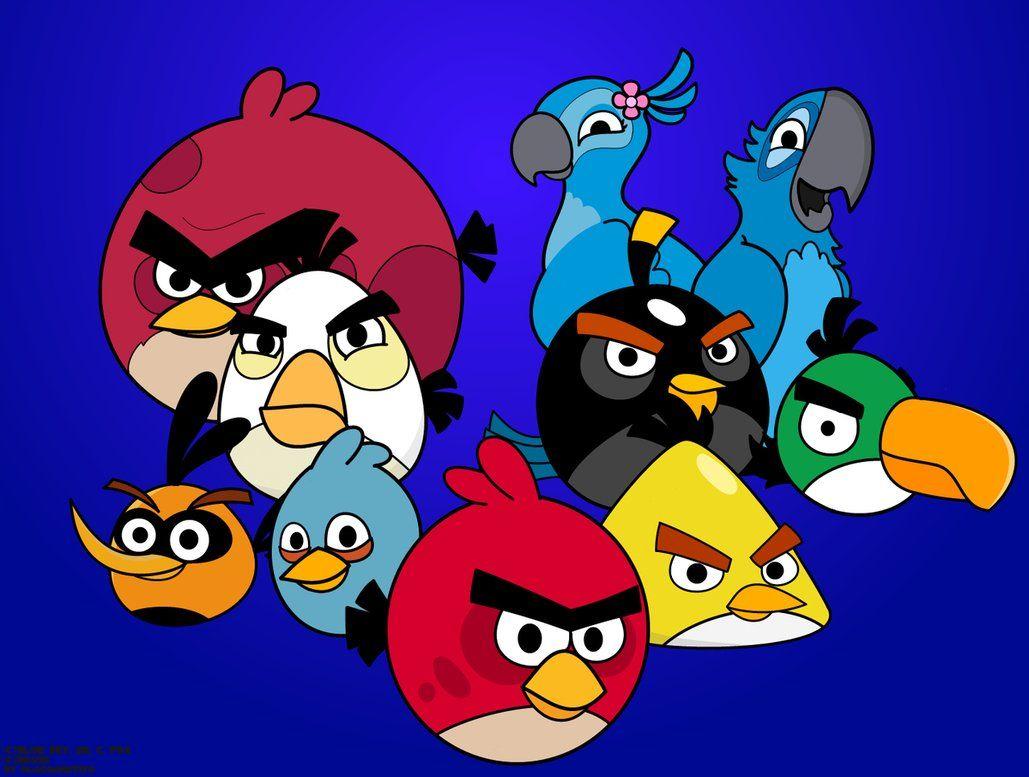 Deviantart More Like Angry Birds Rio By Diabolus01 Festa Infantil Infantil