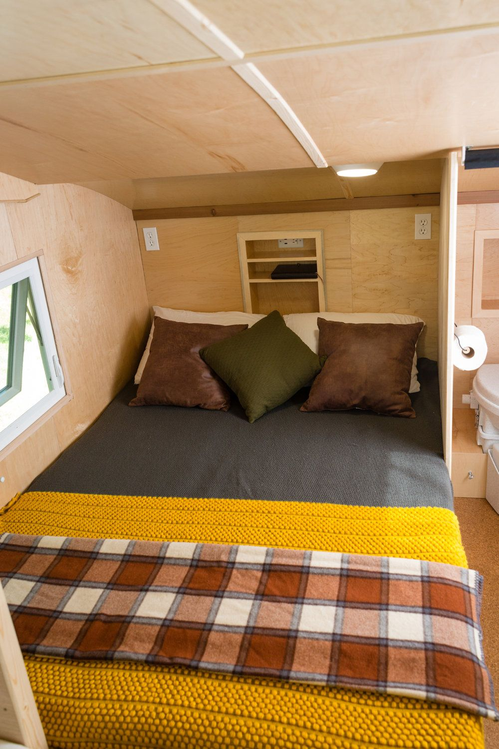 Homegrown Trailers Bedroom Sets One Bedroom Apartment Tiny House Towns