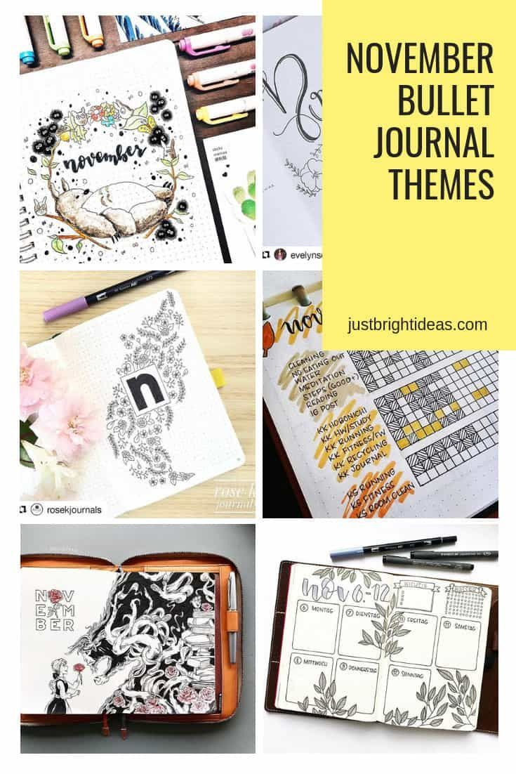 FABULOUS November Bullet Journal Themes {Cover pages and plan with me videos to inspire you!} #novemberbulletjournalcover FABULOUS November Bullet Journal Themes {Cover pages and plan with me videos to inspire you!} #novemberbulletjournalcover