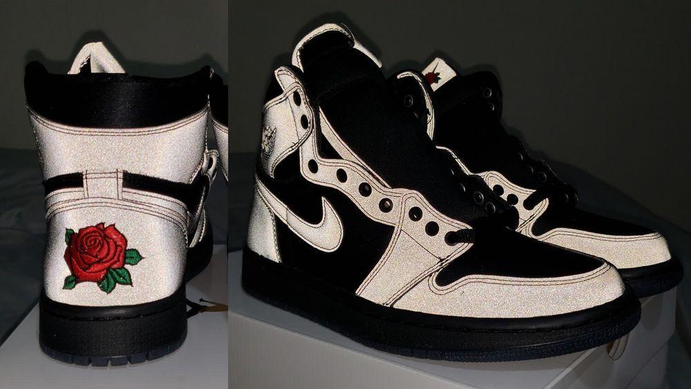 973f3dbeb4db Nike Air Jordan 1 High Women s Rox Brown Rare Size 8W 6.5M ready to ship