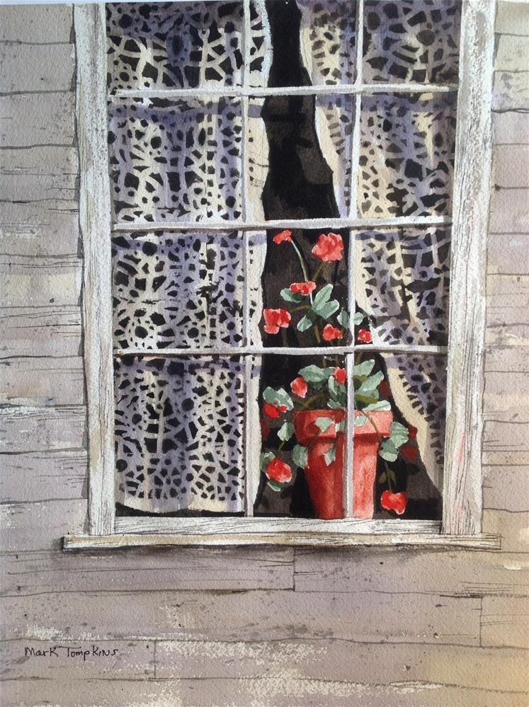 Still Life in Window by Mark Tompkins