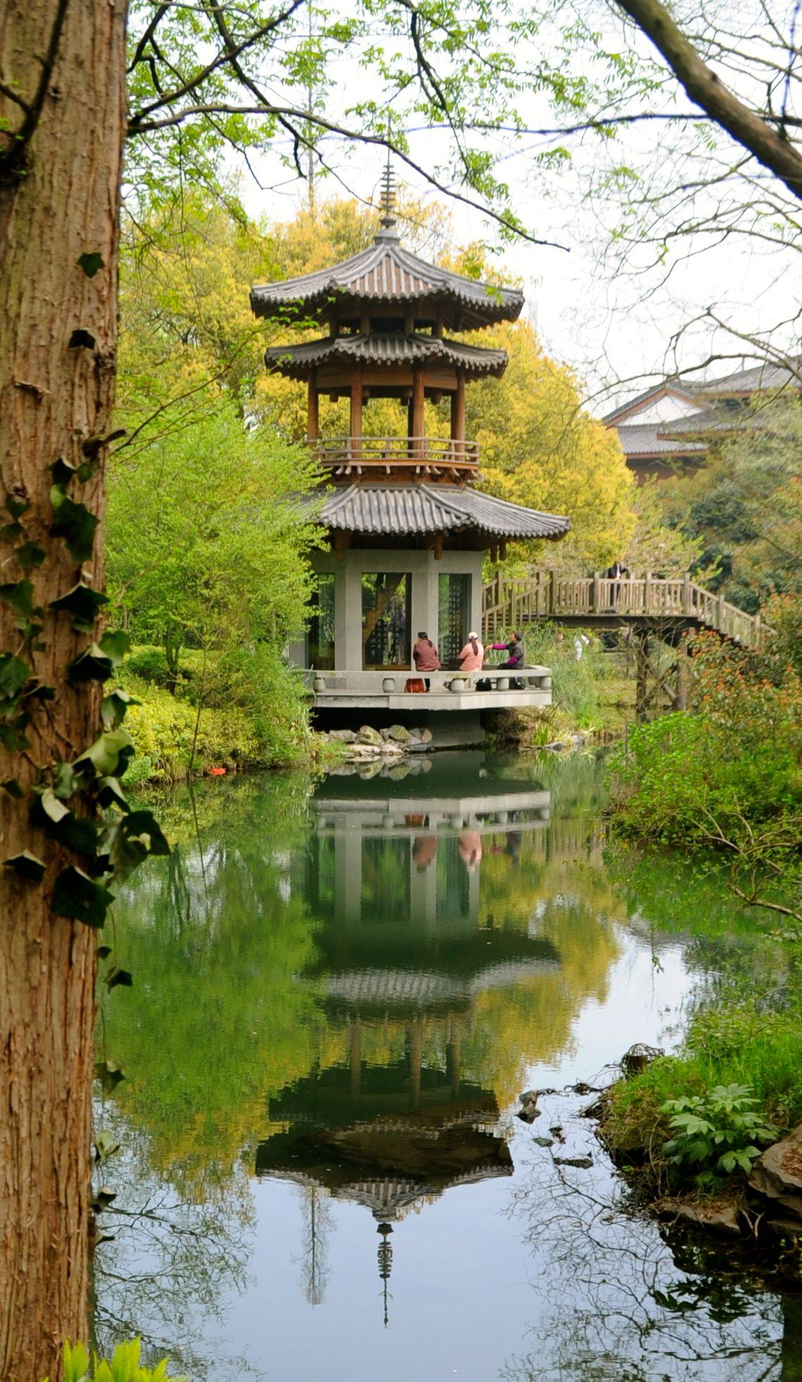 Hangzhou, China Chinese architecture, Ancient chinese