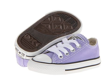 a0bd83852fbf ... Converse Kids Chuck Taylor® All Star® Ox (Infant Toddler) Lavender Glow  ...