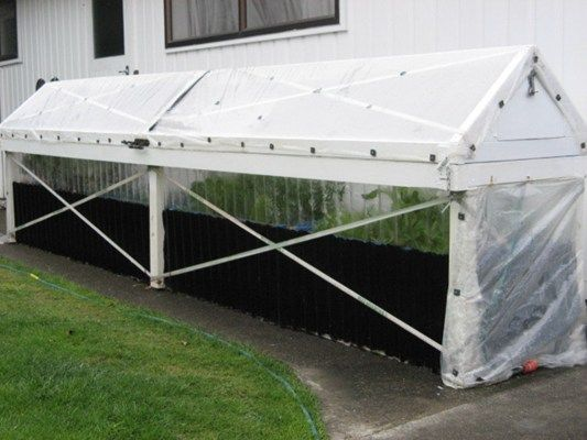 homemade budget greenhouses - will have to look at later