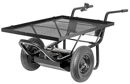 Paw Battery Powered Wheelbarrow Review Best Electric Wheelbarrow Wheelbarrow Outdoor Cart Electric Wheelbarrow