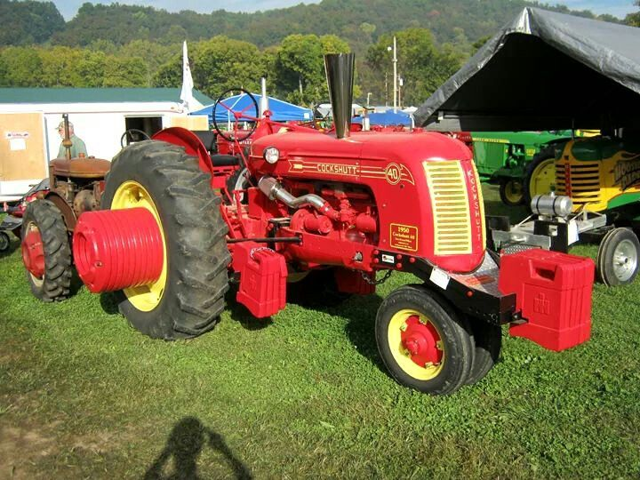 Cockshutt 40 Antique Tractors Tractors Tractor Accessories